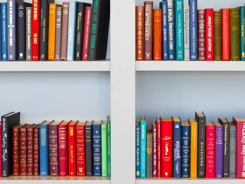 colourful books