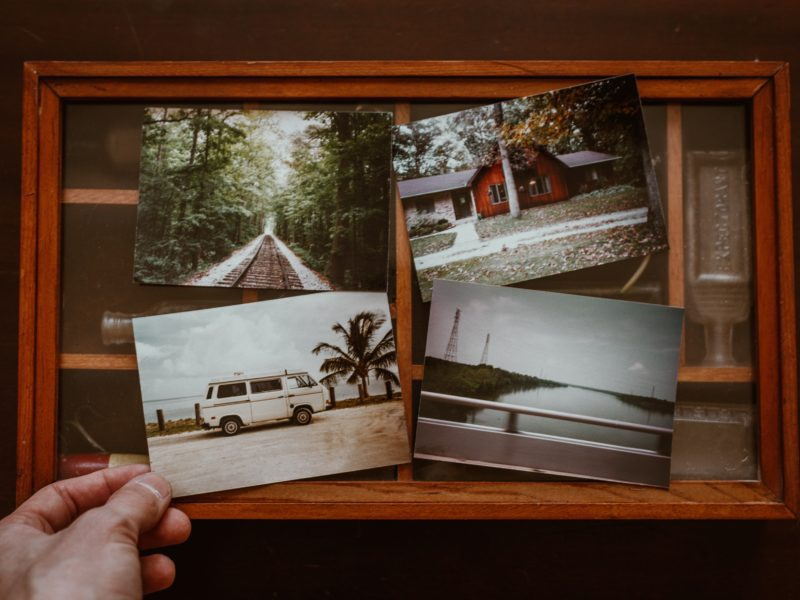 image of four photos featuring different holiday and travel images